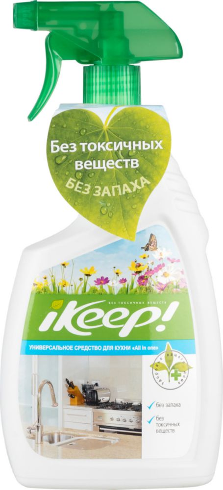 Средство для кухни универсальное iKeep! all in one 750 мл
