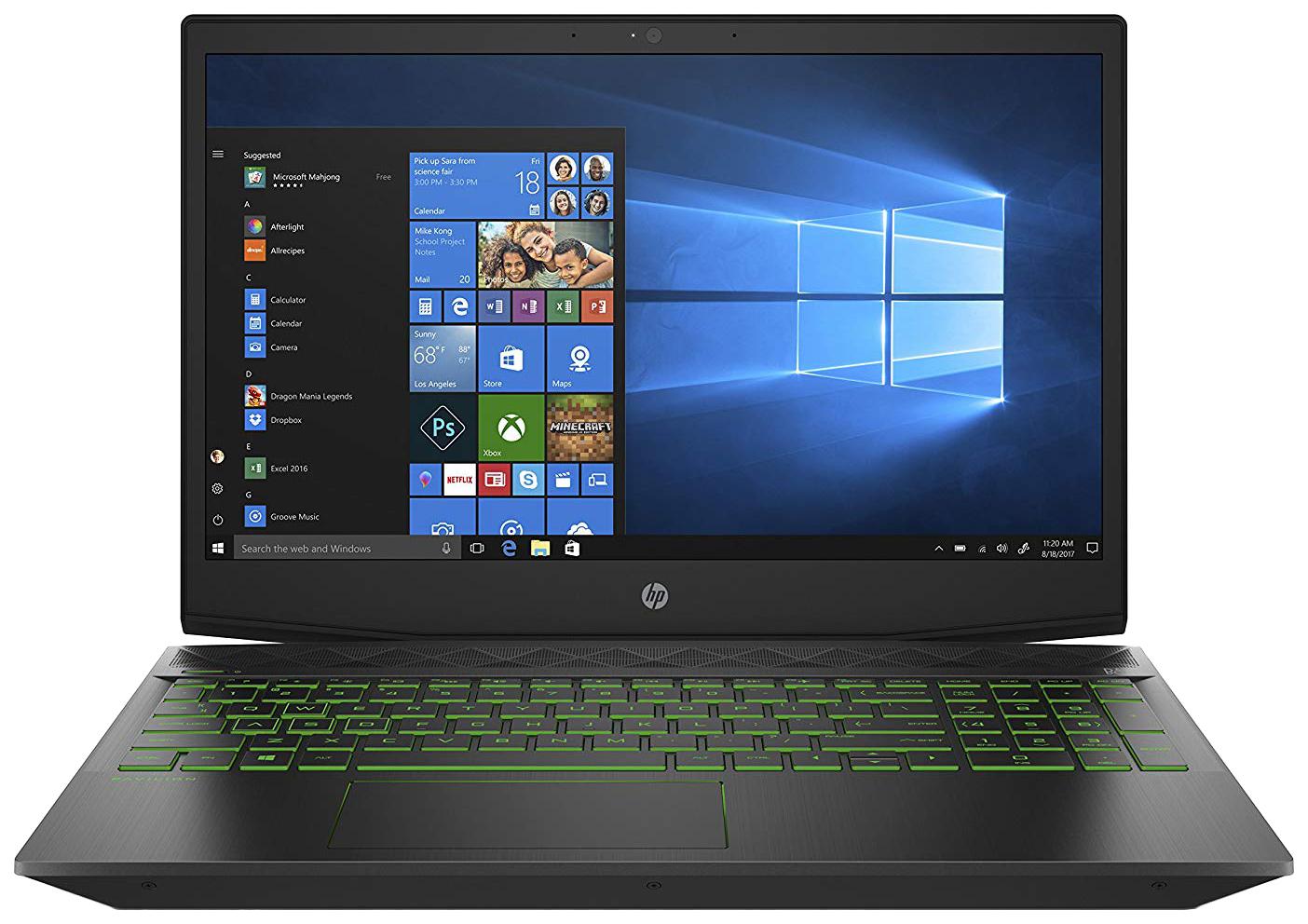 Ноутбук игровой HP Gaming Pavilion 15-cx0079ur 5EQ63EA