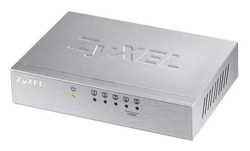 Коммутатор Zyxel ES-105AV3-EU0101F Grey