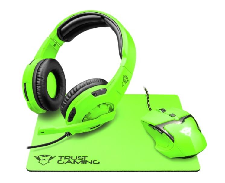 Комплект игровой  Trust GXT790-SB SPECTRA Green