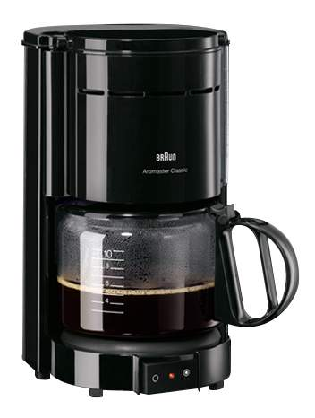 Кофеварка капельного типа Braun KF47/1 Black