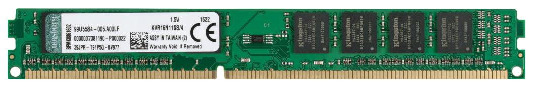 Оперативная память Kingston ValueRAM KVR16N11S8/4
