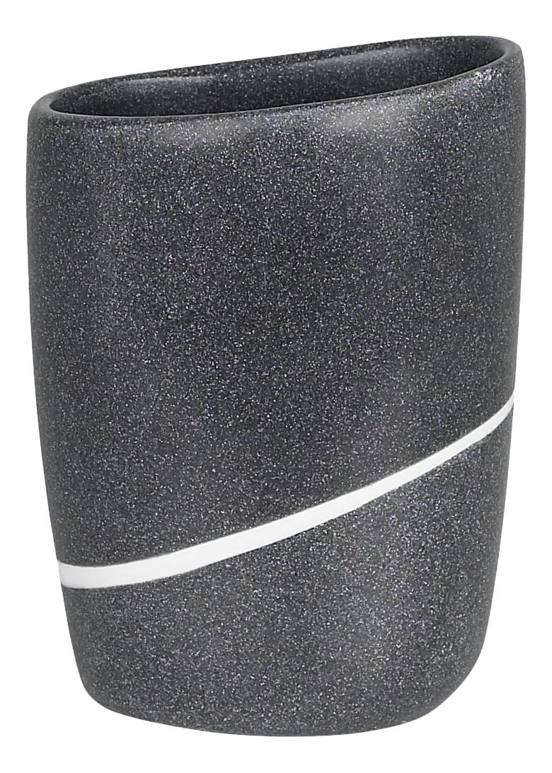 Стакан для зубных щеток Spirella Etna Stone 1013642