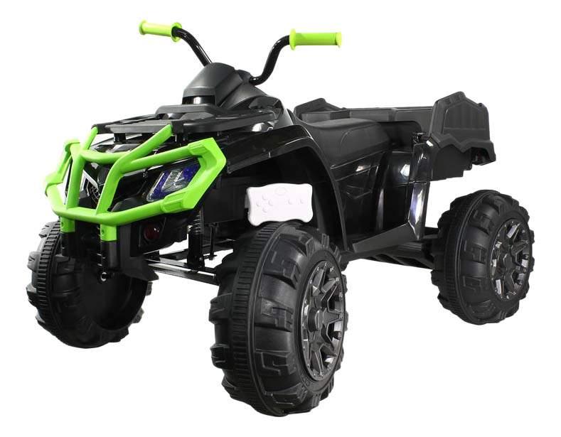 Квадроцикл Weikesi черно-зеленый
