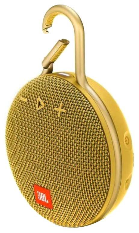 Беспроводная акустика JBL Сlip 3 Yellow (JBLCLIP3YEL)