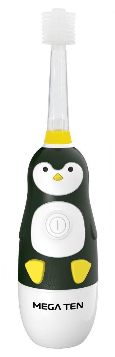 Электрическая зубная щетка Megaten Kids Sonic Пингвиненок