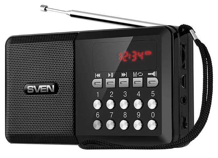 Радиоприемник Sven PS-60 Черный