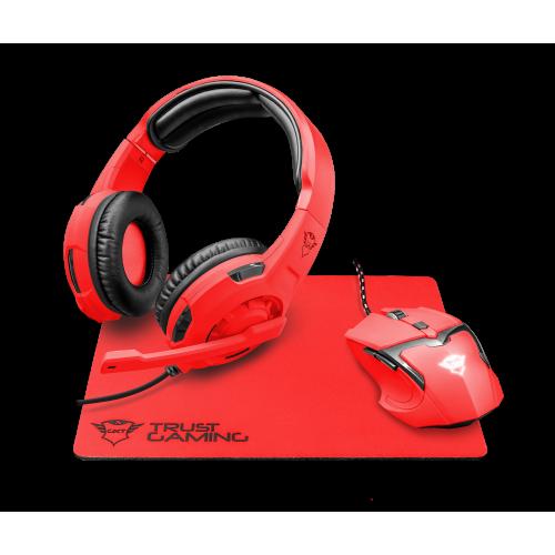 Комплект игровой Trust GXT790-SB SPECTRA Red