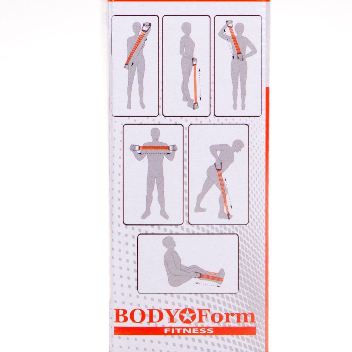 Миниатюра Эспандер Body Form BF-ESH01 оранжевый №3