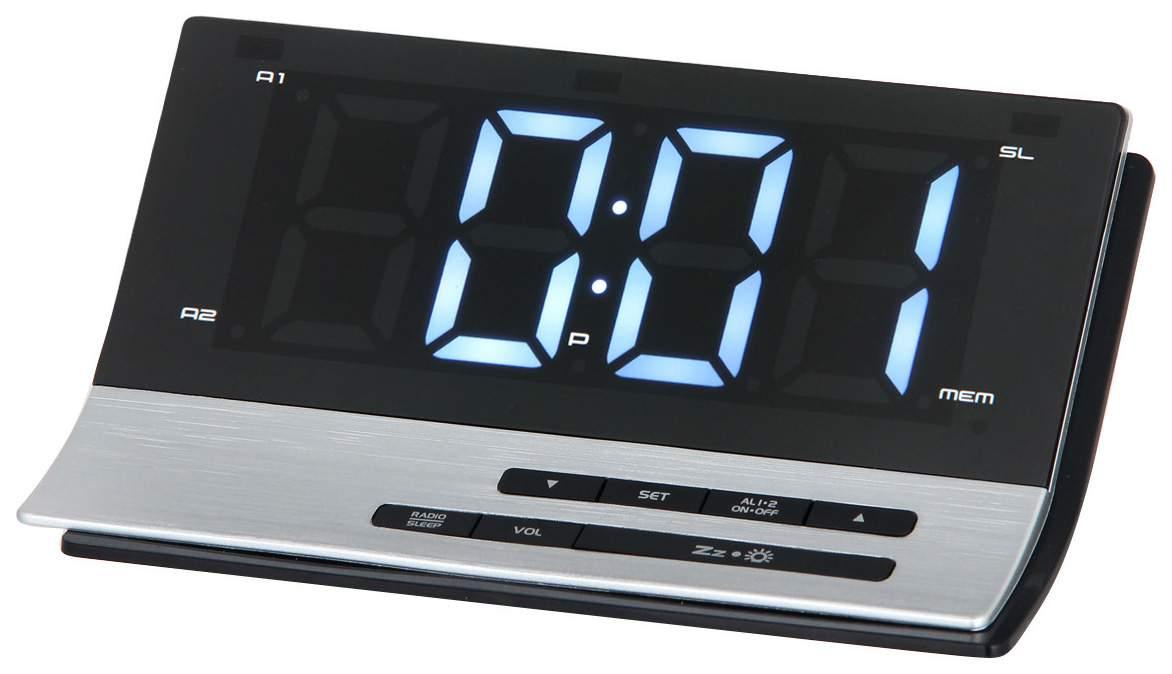 Радио-часы MAX CR-2907W