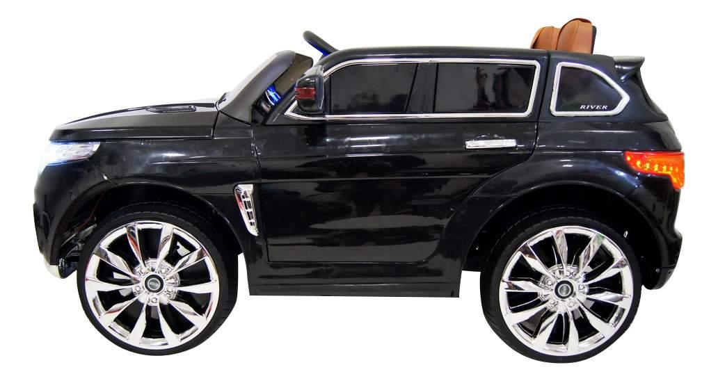 Электромобиль Range Rover Sport черный RIVERTOYS