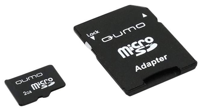 Карта памяти QUMO Micro SD QM2GMICSD 2GB