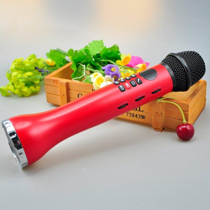 Микрофон-караоке SDRD l-598 красный