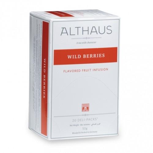 Чай фруктовый Althaus wild berries 20 пакетиков