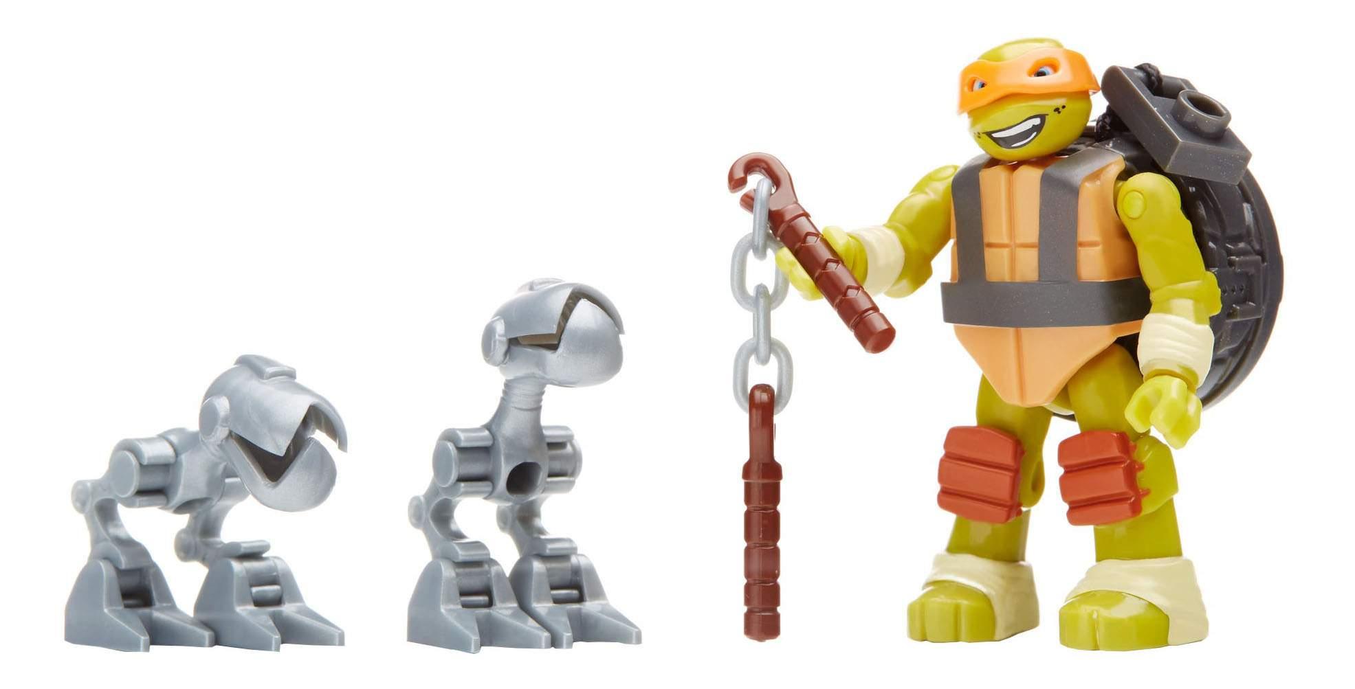 Конструктор пластиковый Mega Bloks® Черепашки ниндзя пиццерия микеланджело DMX51