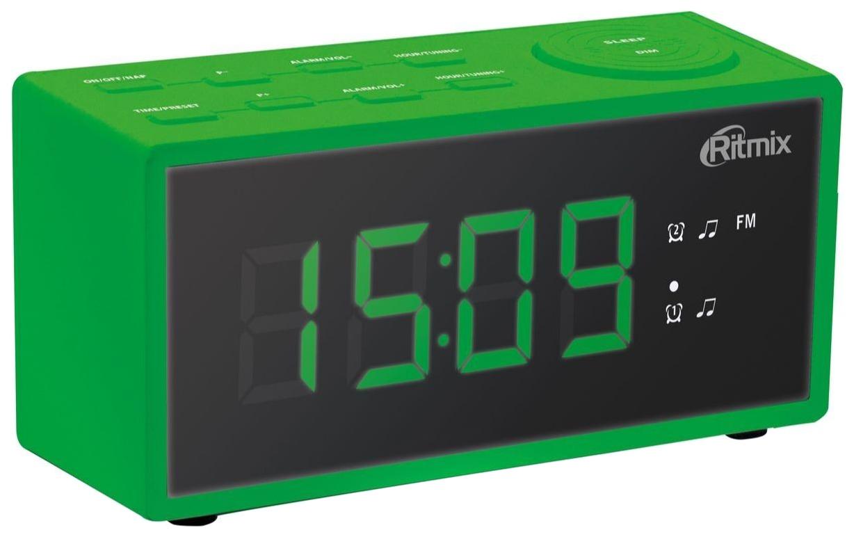 Радио-будильник Ritmix RRC-1212 Green
