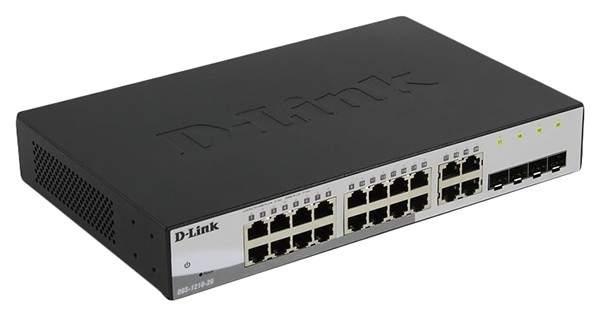 Коммутатор D-Link DGS-1210-20/F1A Black