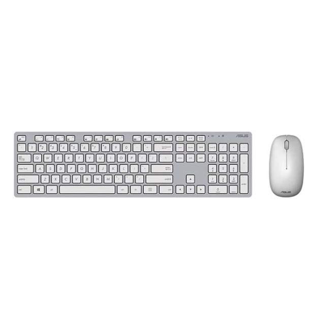 Комплект клавиатура и мышь Asus 90XB0430-BKM0Y0 White