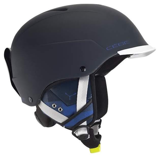 Горнолыжный шлем Cebe Contest Visor 2018, синий, S