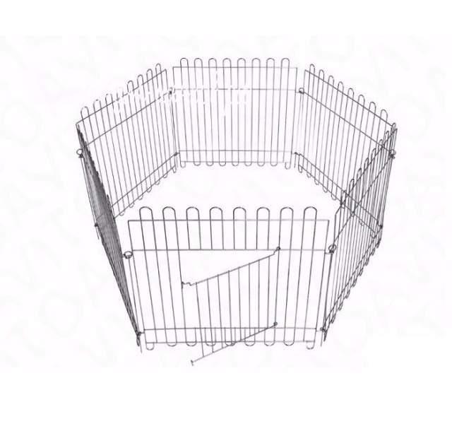 Вольер Dog Land оцинкованный, размер секции 63х73 см, в ассортименте, 8 секций