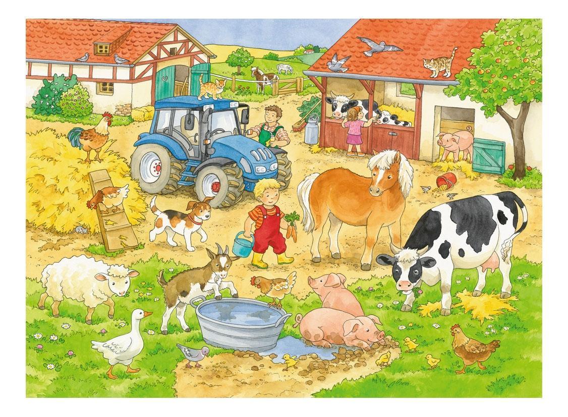 подарил пегаса картинки жизнь людей в деревне ферма меня простить