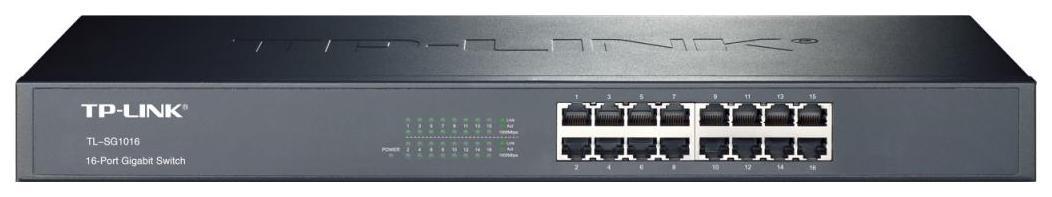 Коммутатор TP-LINK TL-SG1016 Черный
