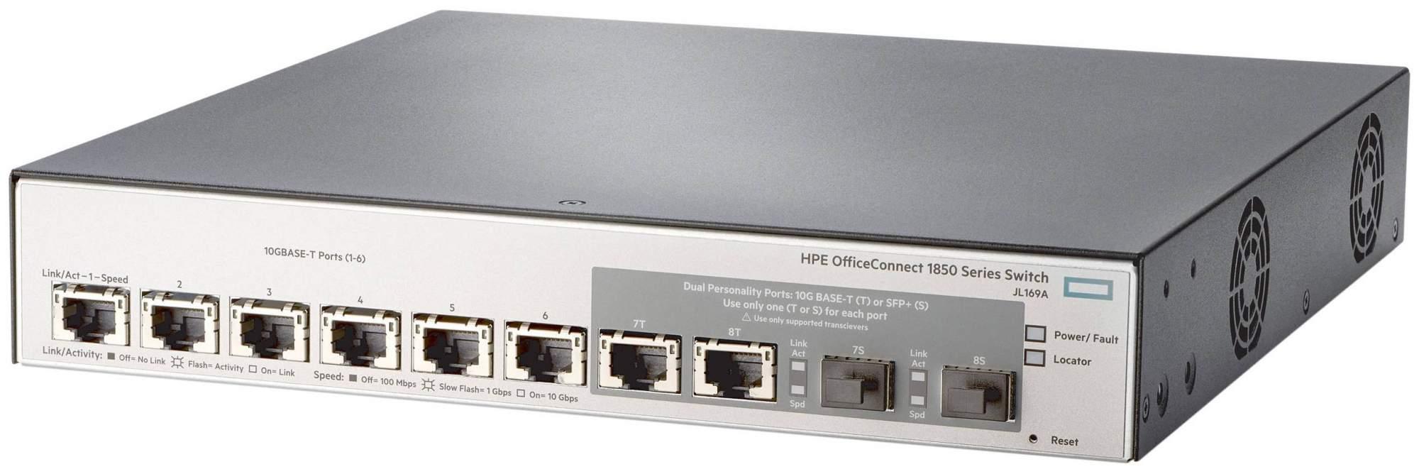 Коммутатор HP 6XGT 2XGT/SFP+ JL169A Серый