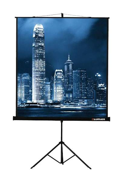 Экран для видеопроектора Lumien Master View LMV-100103 Белый