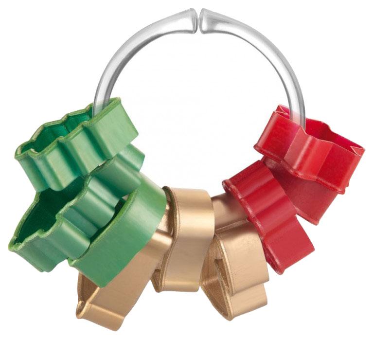 Набор для выпечки Tescoma Delicia 630902 Зеленый; Красный