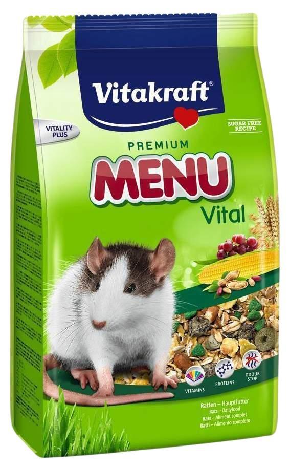 Корм для крыс Vitakraft Menu Vital 1 кг 1 шт