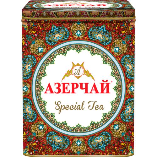 Чай черный Азерчай листовой Special с красным узором 200 г