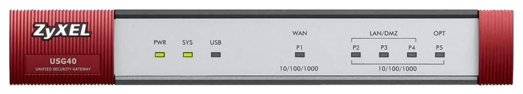 Маршрутизатор ZyXEL USG40