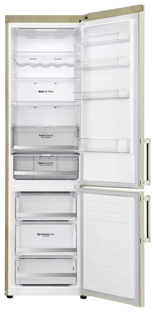 Холодильник LG GA-B 509 BEDZ Beige