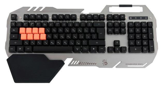 Игровая клавиатура A4Tech Bloody B418 Grey