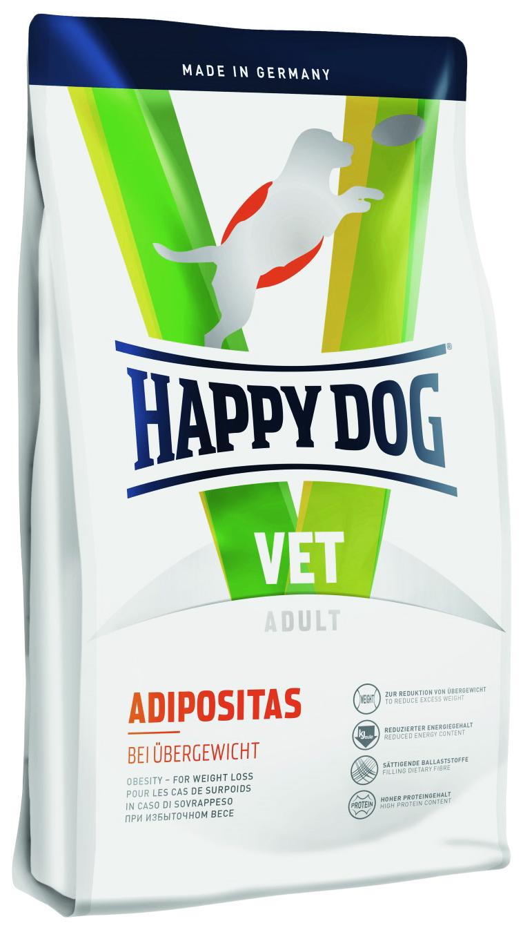 Сухой корм для собак Happy Dog Vet Adult Adipositas, при ожирении, мясо, 12,5кг