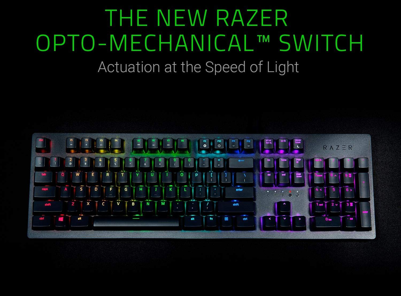 Игровая клавиатура Razer Huntsman Black (RZ03-02521100-R3R1)