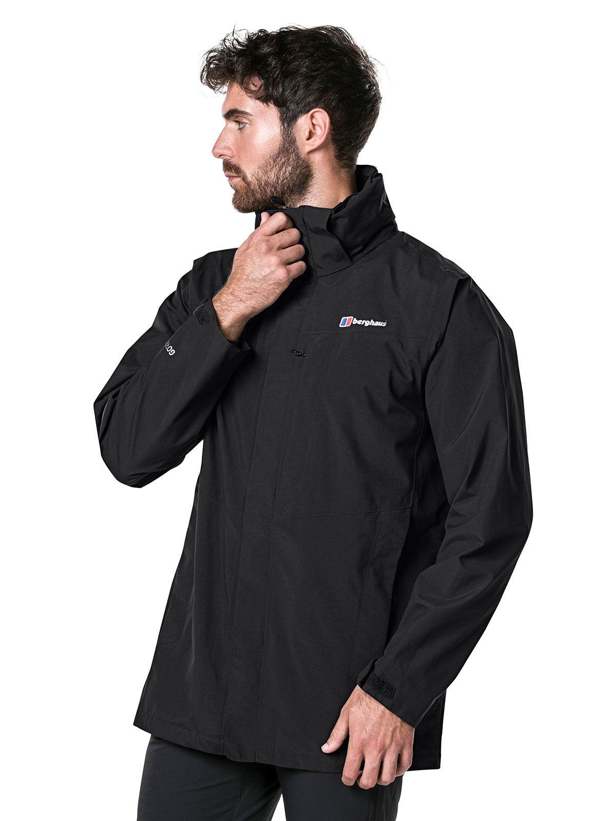 Куртка Berghaus Hillwalker Long Shell, black, S INT