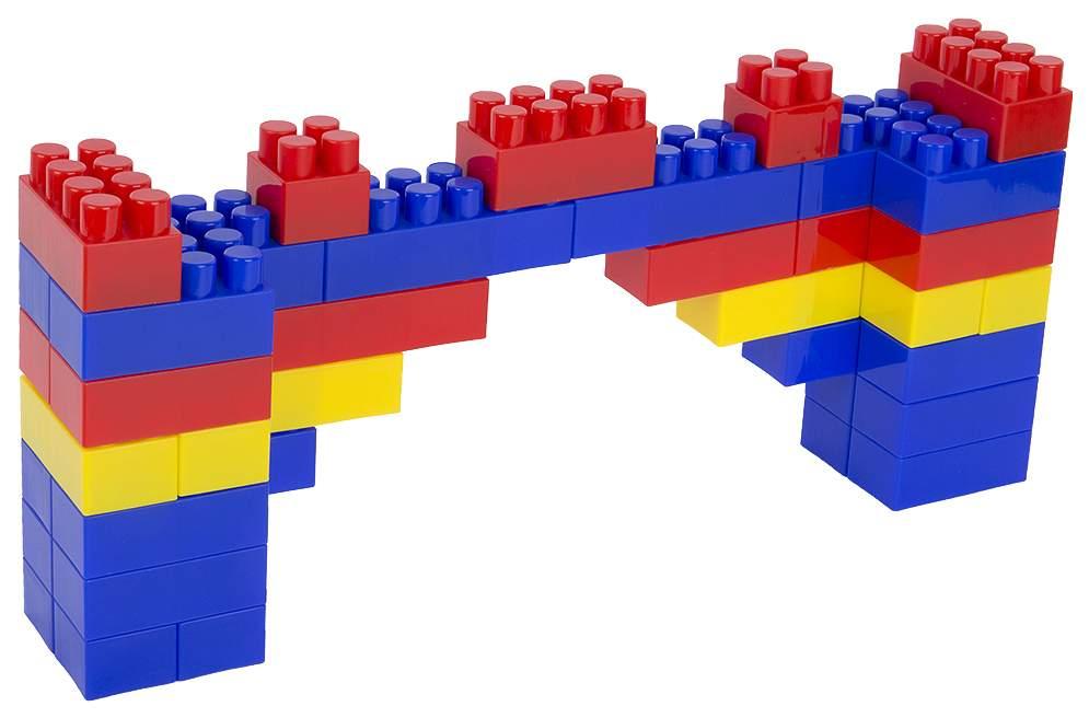 картинки из кубиков мосты костюма подойдёт любая