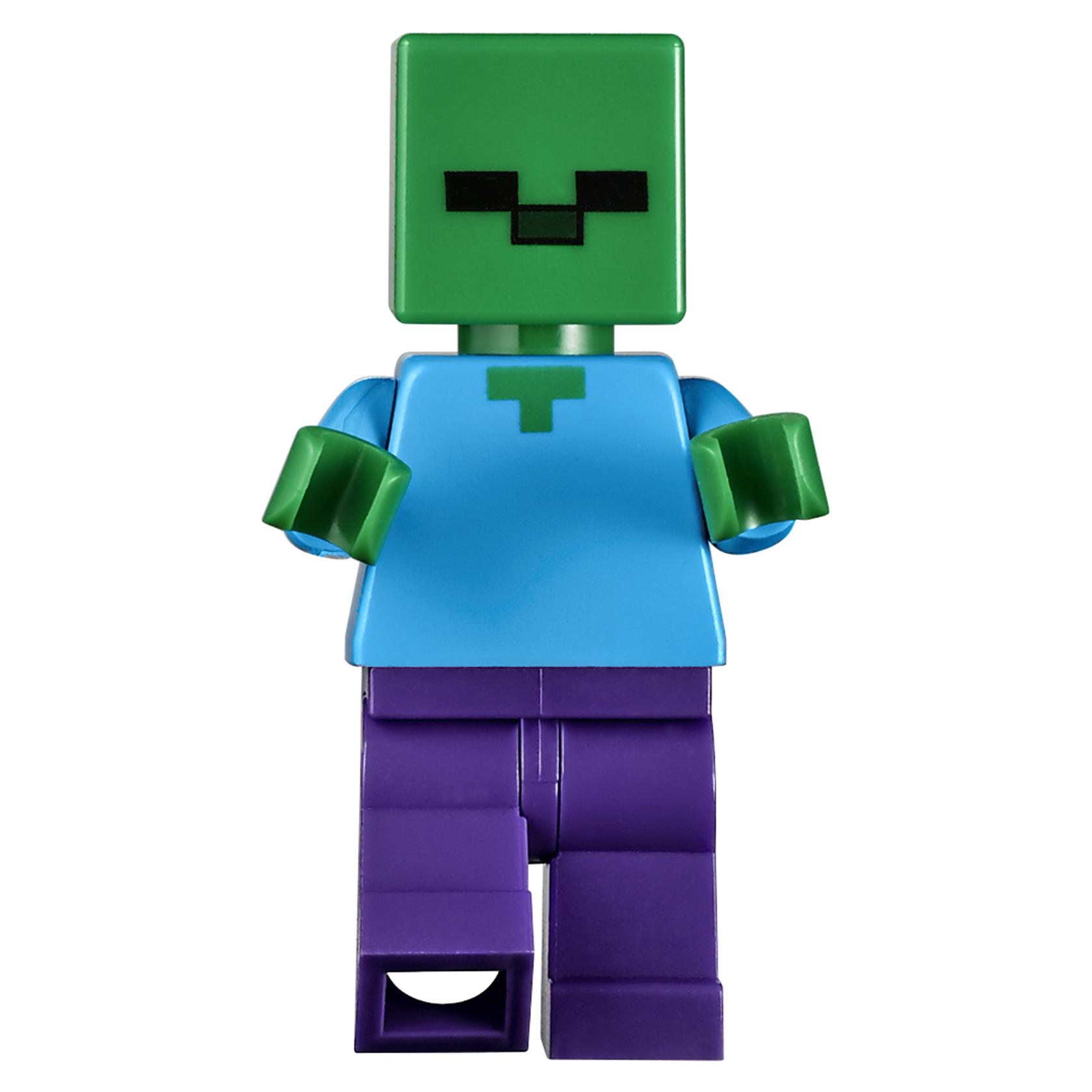 купить конструктор Lego Minecraft железный голем 21123 в