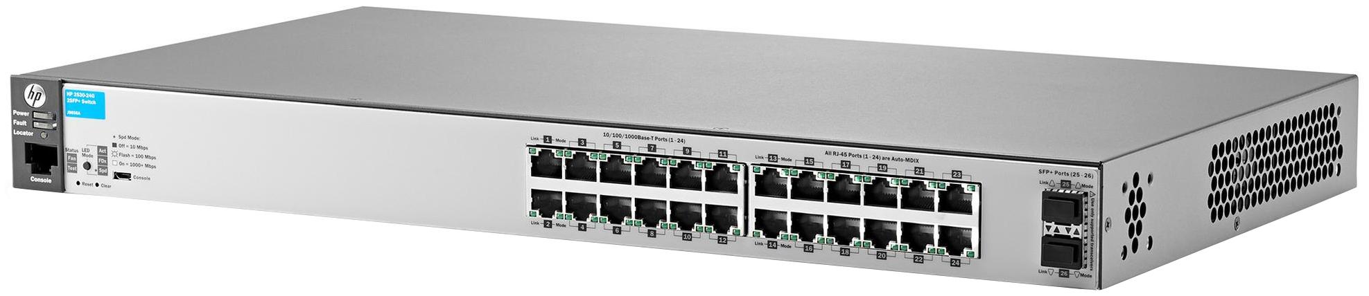 Коммутатор HP Aruba 2530-24G J9856A Серый