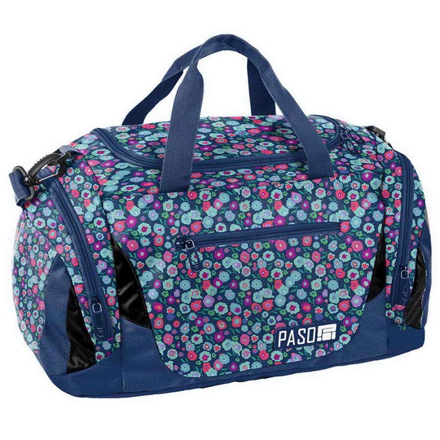 Дорожная сумка Paso Multiflowers 44 x 23,5 x 23