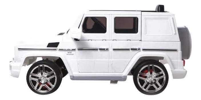 Электромобиль Mercedes-Benz G63-AMG белый RIVERTOYS