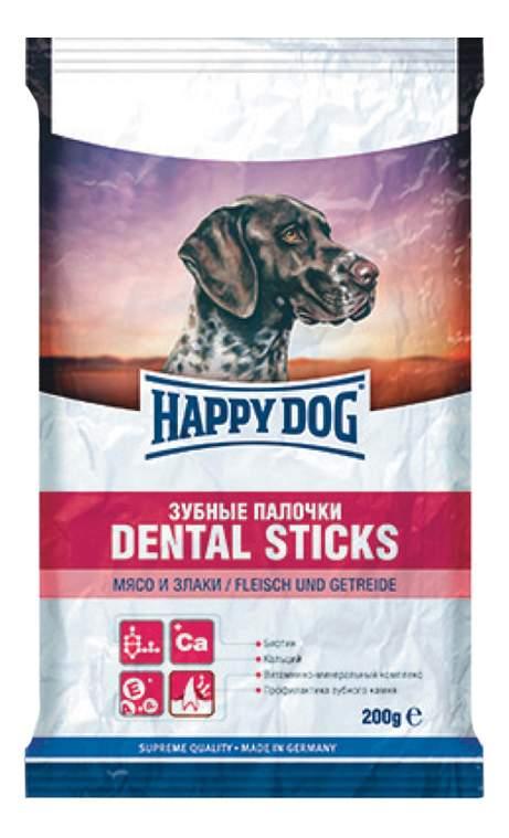 Лакомства для собак Happy Dog Зубные палочки Мясо, Злаки 180г