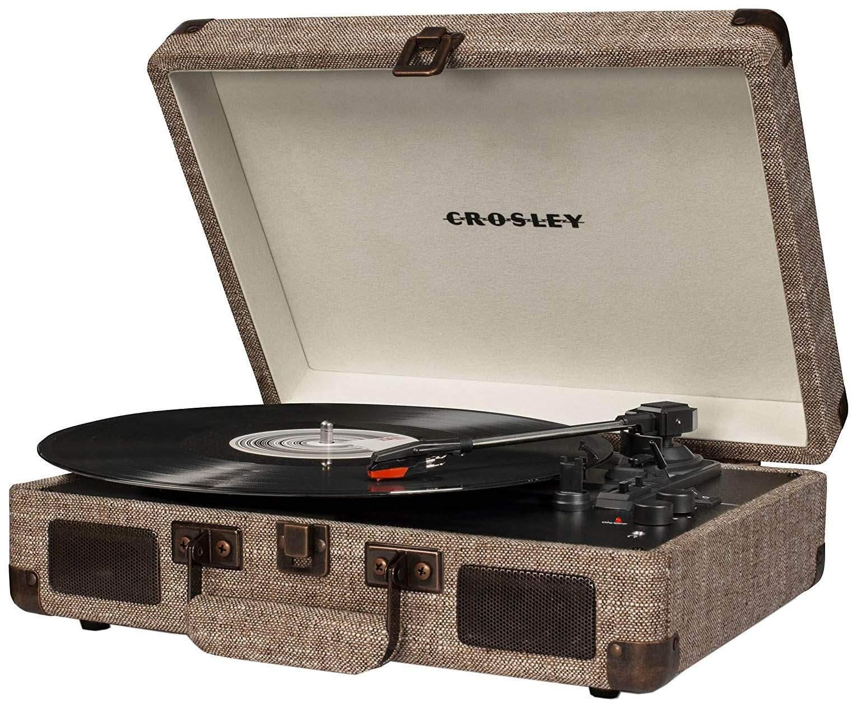 Проигрыватель виниловых пластинок Crosley Cruiser Deluxe CR8005D-HA Grey