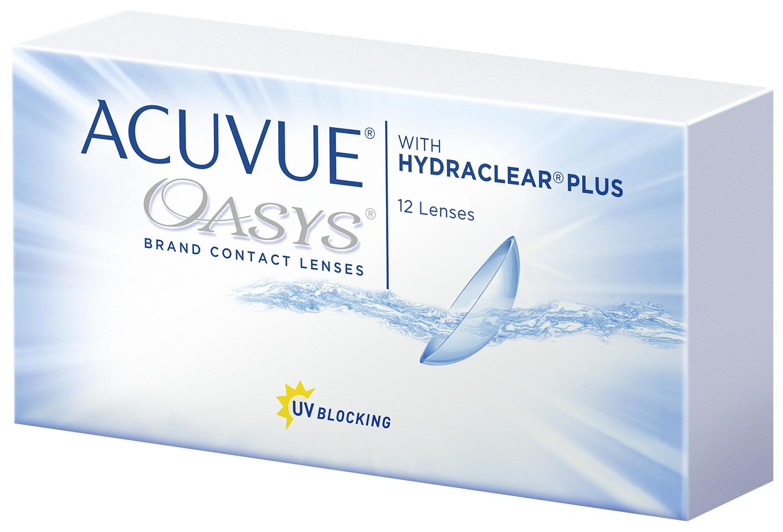Контактные линзы Acuvue Oasys with Hydraclear Plus 12 линз R 8,4 -4,25