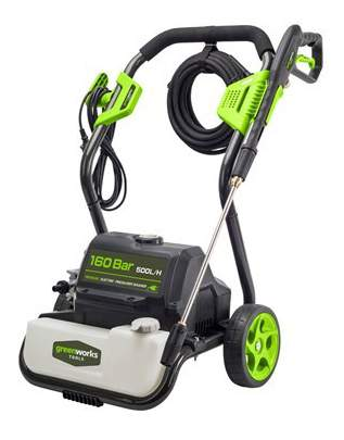 Электрическая мойка высокого давления Greenworks GPWG8 5100907