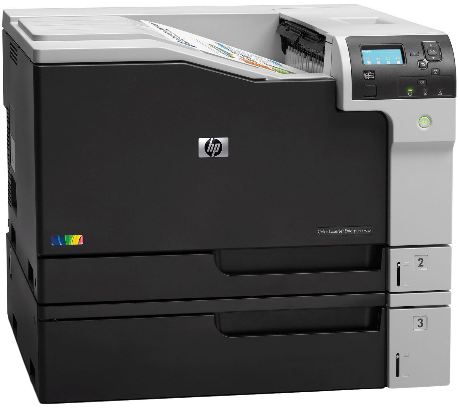 Лазерный принтер HP M750dn