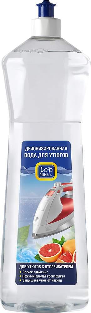 Вода для утюгов TOP HOUSE с ароматом грейпфрута 1 л