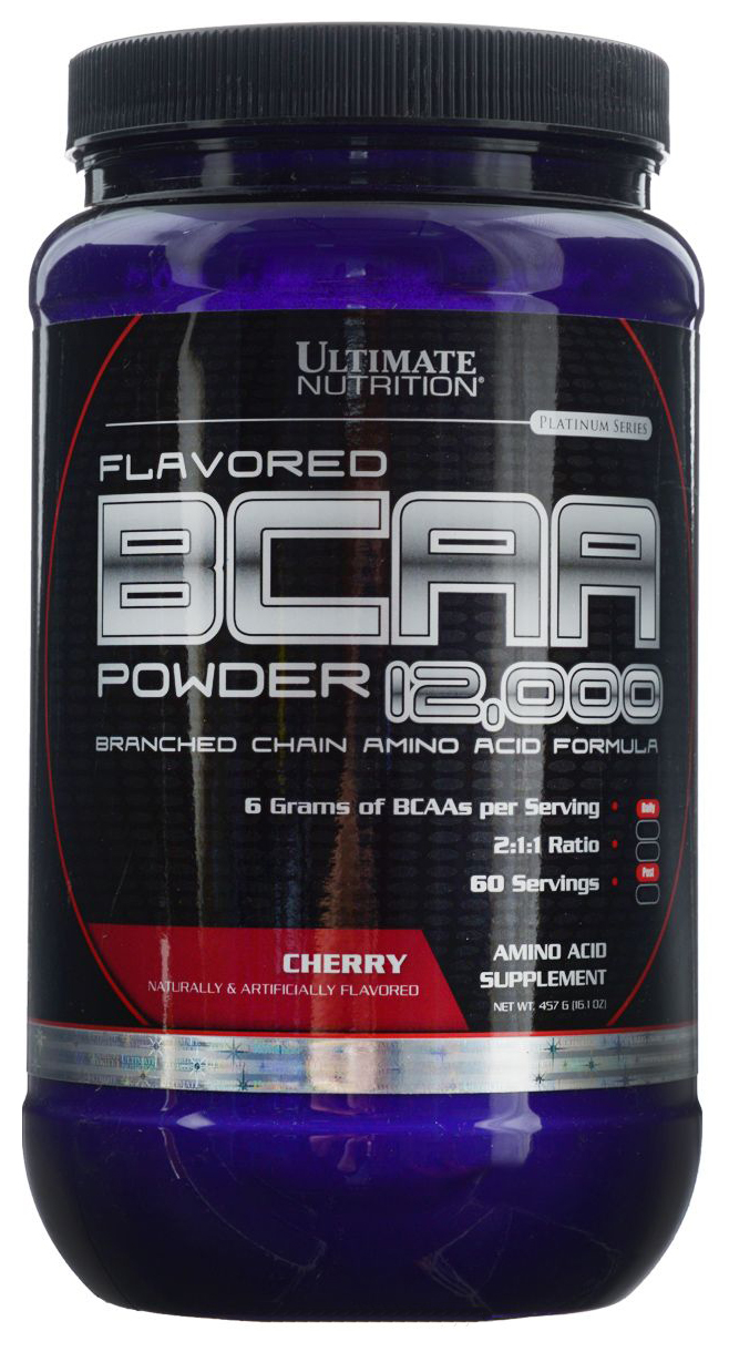 BCAA Ultimate Nutrition 12000 457 г вишня