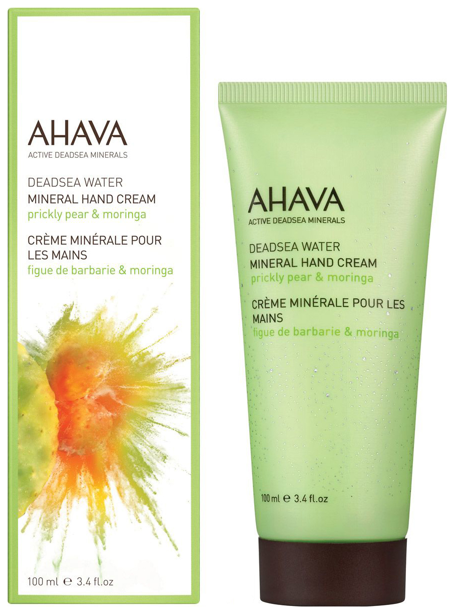 Крем для рук Ahava Deadsea Water Mineral Hand Cream Prickly Pear & Moringa 100 мл